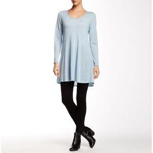Eileen Fisher Scoop Neck Merino Wool Tunic Sweater